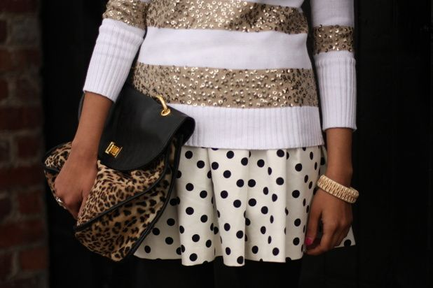 Sparkle, stripes & polka dots.