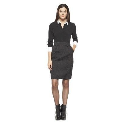 Altuzarra for Target Button Down Dress- Black