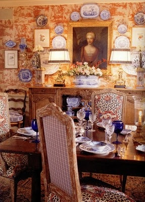 Charles Faudree dining room