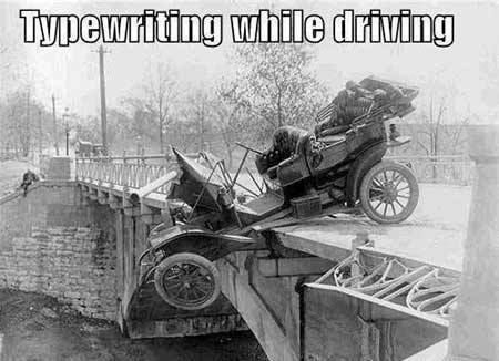 Why #hipsters should text and drive.