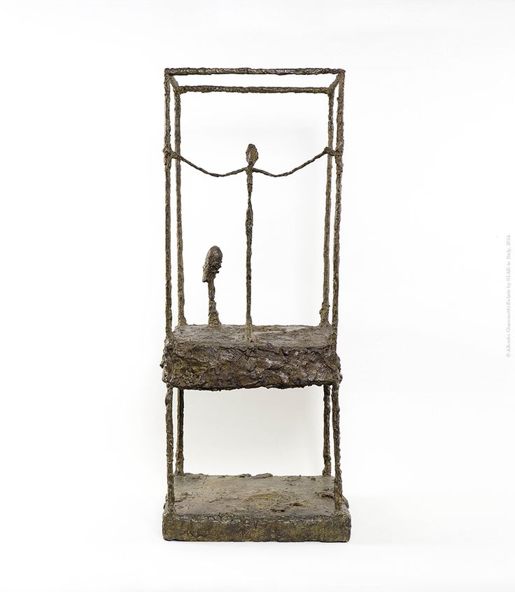 Alberto Giacometti  The Cage, first version  1949 - 1950 Bronze  90.5 x 36.5 x 34 cm  Collection Fondation Giacometti, Paris  © Alberto Giacometti Estate by SIAE in Italy, 2014