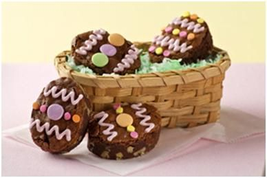 Easter Brownies....so easy to create!