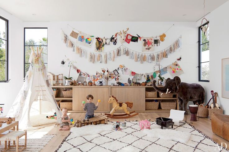 Large play space for kids