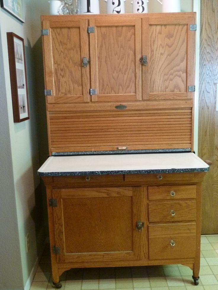 Vintage Hoosier Kitchen Hutch Antiques