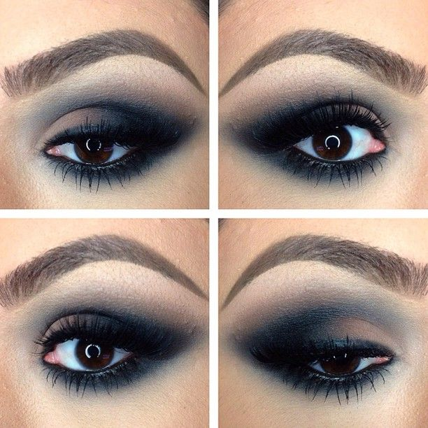 Soft smokey eye. dirtymelodies