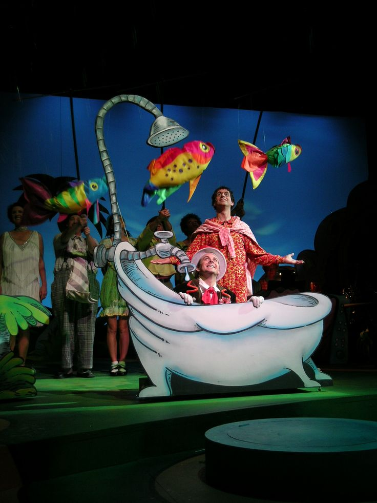 Fish And Tub Seussical Pinterest