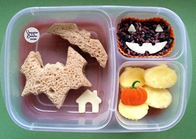 More fun Halloween lunch ideas!