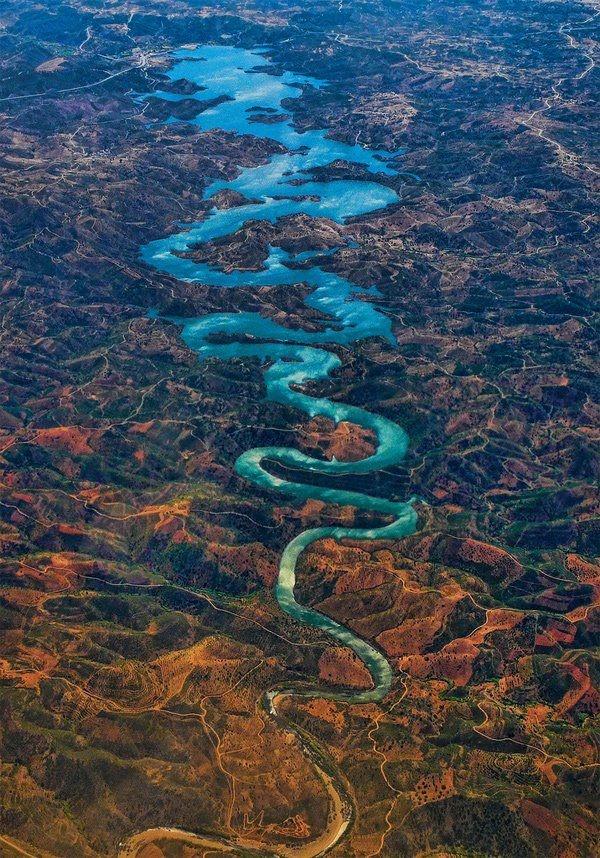 Portogallo - Blue Dragon fiume