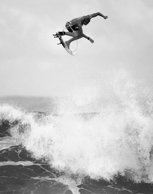Surfing Black and White Photography