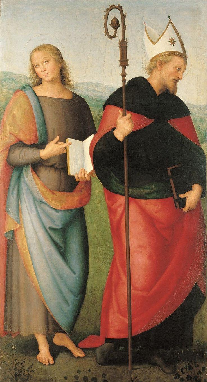 Saint Jean l'Évangéliste et Saint Augustin, 1502-1512