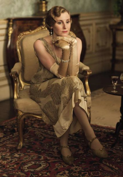Downton Abbey Season 4: Ediths costumes this year are looking amazing