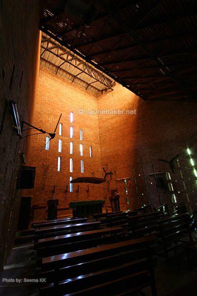 Loyola Chapel • Laurie Baker • Thiruvananthapuram, KL, India