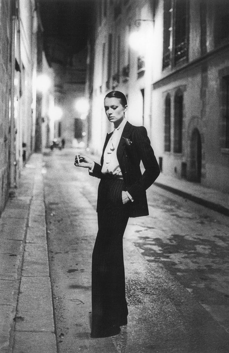 Helmut Newton for YSL