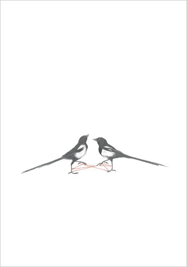 rachel goodyear - two magpies