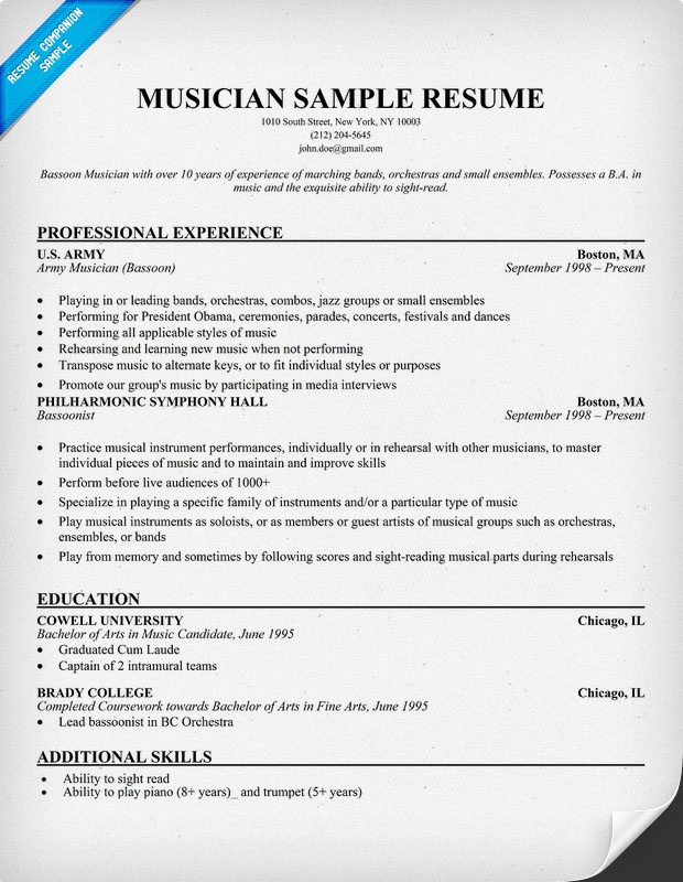 resume sample good student resume sample musical theatre resume