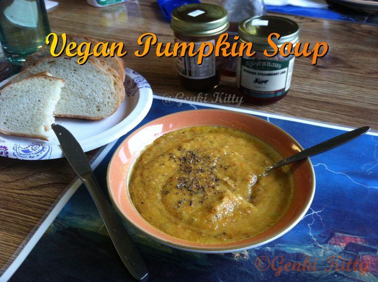 Image Vegan Pumpkin Soup Recipe