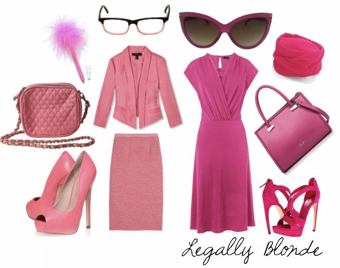 Legally blonde DIY costume ideas