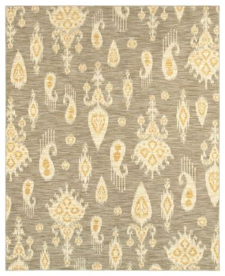 "Shaw Living Area Rug, Neo Abstracts 17500 San Gabriel Grey 2'6"" x 8' Runner Rug - Runners Rugs - Rugs - Macy's"