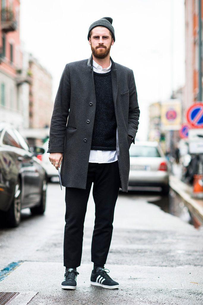 menswear street style adidas