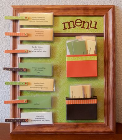 The End of Reinventing the Meal- Menu Planning and The Ultimate Menu Board