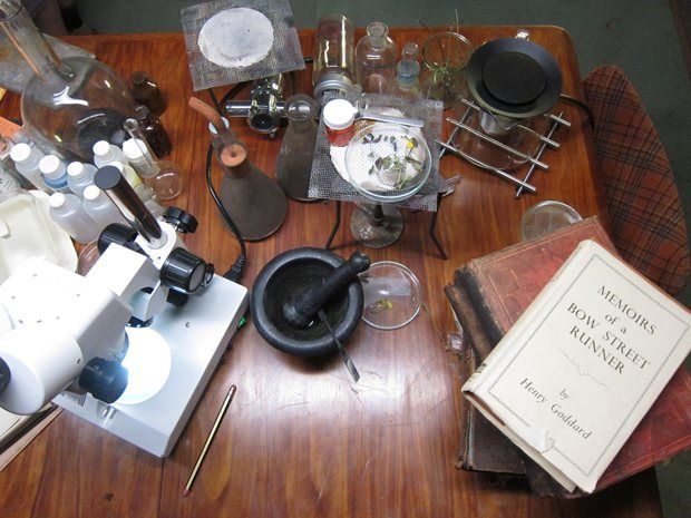 BBC Sherlock kitchen props image