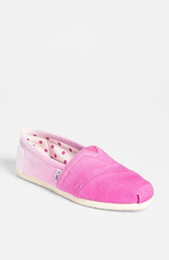 TOMS 'Classic - Pink Ombré' Slip-On (Women) (Exclusive Color) available at #Nordstrom