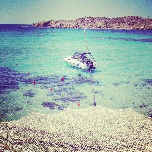 Amazing day at Paraga Beach. #mykonos #greece (at Paraga Beach)