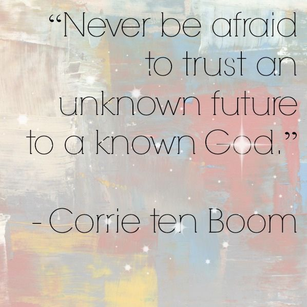 10 Heroes for Girls - Corrie ten Boom Quote by Sisters Raising Sisters, via Flickr
