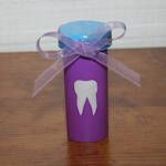 Tooth Saver  Why didn't I think of this? Recyle pill bottle and decorate it to assist the Tooth Fairy with easy pick-up!
