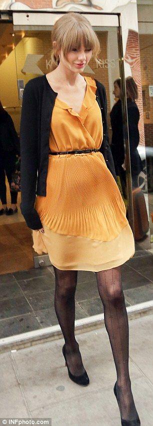 Taylor Swift in a McGinn dress.