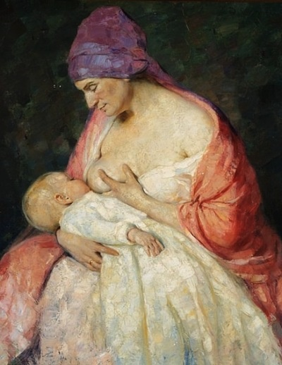 grenness on breastfeeding