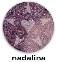 "NADALINA is a deep smoked russet mauve with complex pewter undertones.    CHIARA is an Aromaleigh v2 stock collection, inspired by the range of best-selling, frost eyeshadows of Aromaleigh v1, the ""Gothic Lolita"" Eyeshadow collection.    http://www.aromaleigh.com/newcshjetomi.html"