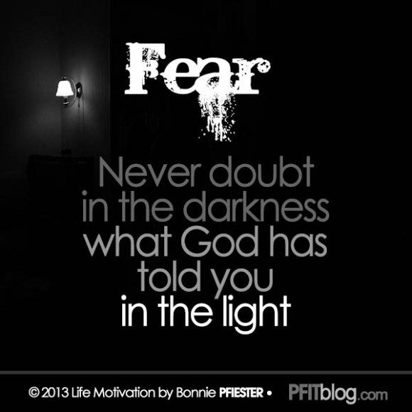 Conquering Fear & Doubt