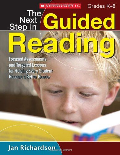 This is a great teacher resource!  The Next Step in Guided Reading: Focused Assessments and Targeted Lessons for Helping Every Student Become a Better Reader