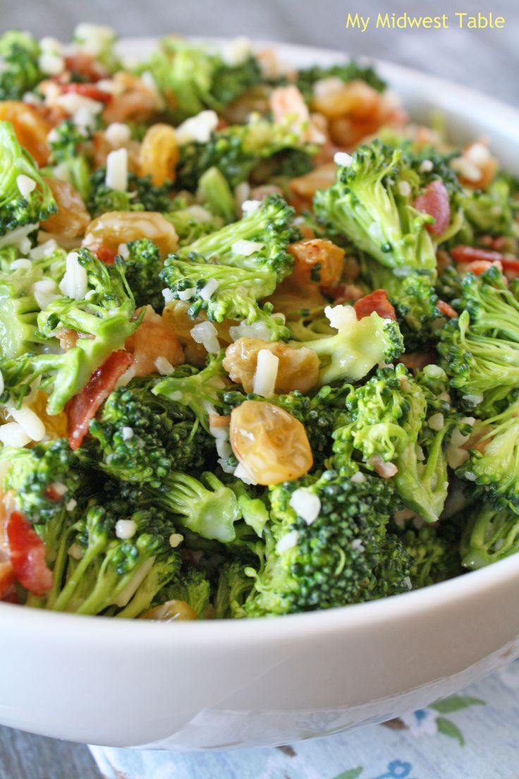 Broccoli Salad Recipe Dishmaps