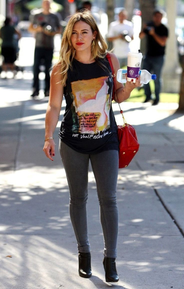 Best Dressed: Hilary Duff (September 2013)