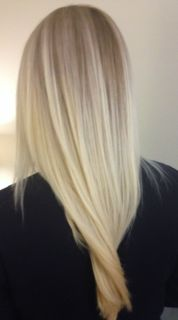 hair colour - blonde