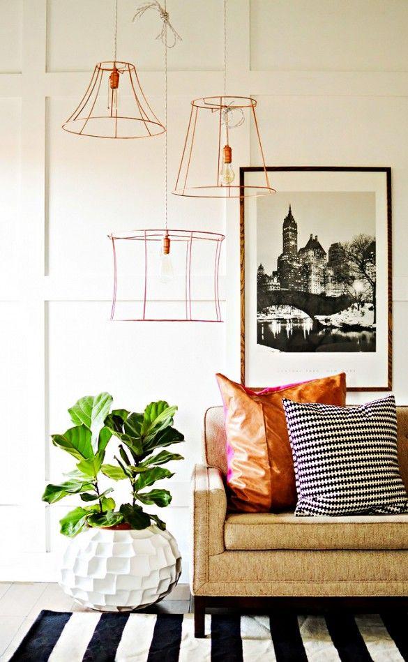 #DIY Simple Copper Wire Pendants
