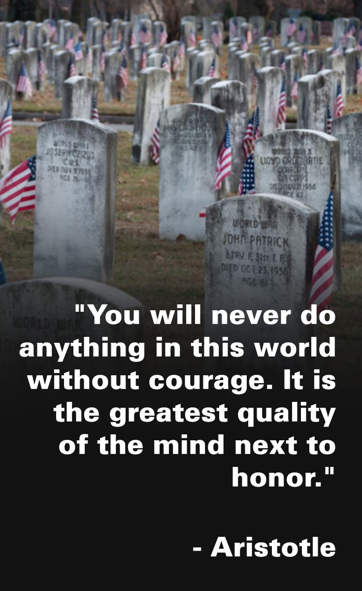 Remembering and honoring our fallen heroes on Memorial Day. Thank you for your service and ultimate sacrifice to our country. 9 Quotes That Capture the Real Meaning of Memorial Day. From nextavenue.org