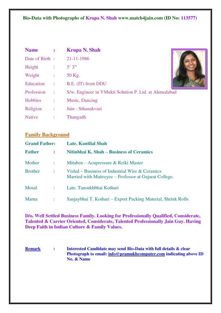 collection of marriage biodata format and decorating tips for your