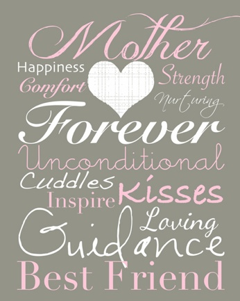 Happy Mothers Day ladies! May this be a day you girls can do what ever you want to!!! Which you can do ever other day...