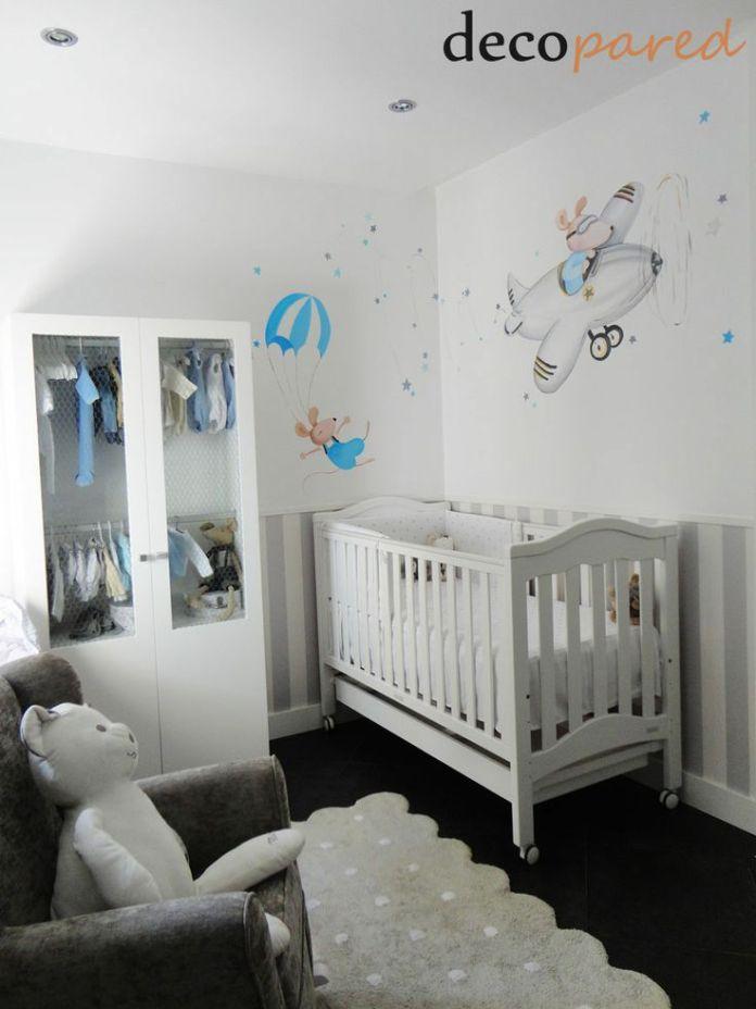 Habitación pintada a mano