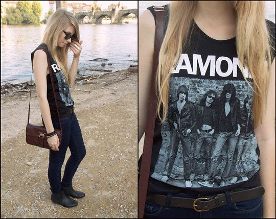 Rock n roll high school (by Pavlina J.) http://lookbook.nu/look/2208305-rock-n-roll-high-school