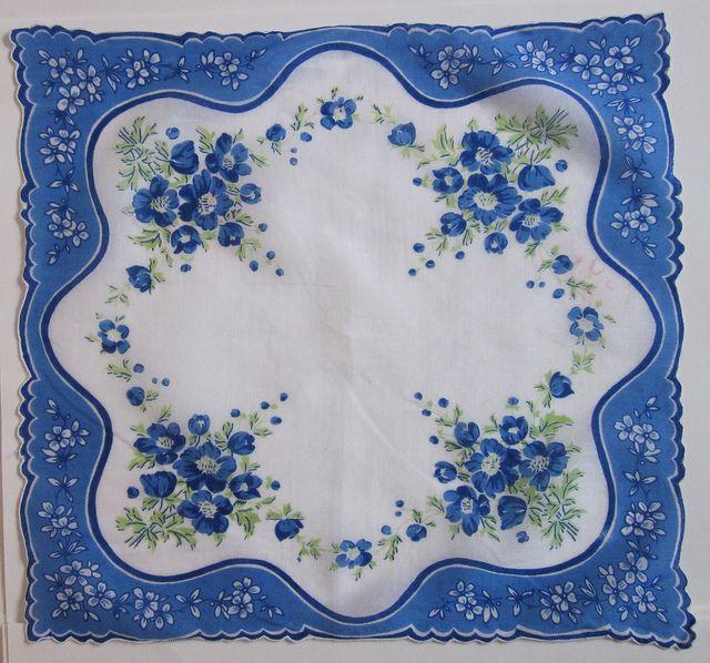 vintage handkerchief