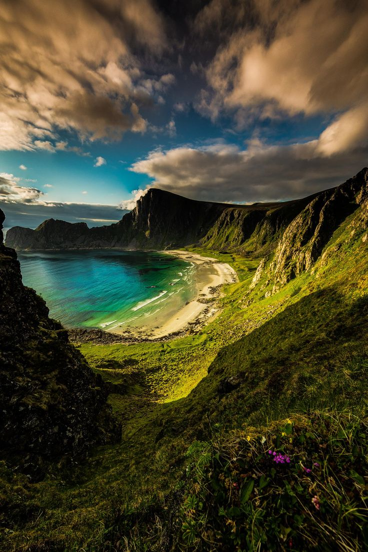 The hidden beach ~ Norway