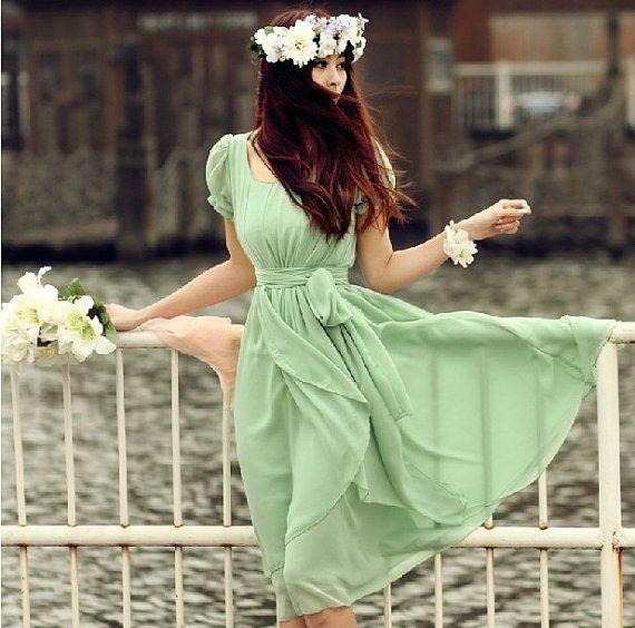 Womens Chiffon Long Dress circumference Short Sleeve Long Dress maxi skirt maxi Dress Party Wedding Prom Dress  s,m,L,XL,XXL