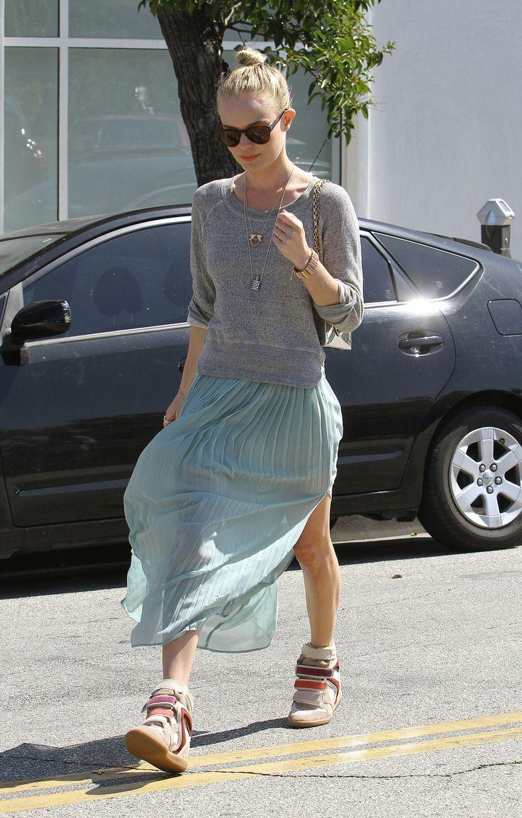 Kate Bosworth in Isabel Marant Sneakers