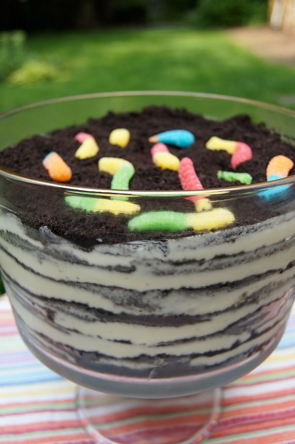 Just a Sliver: Oreo Cookie Dirt Cake