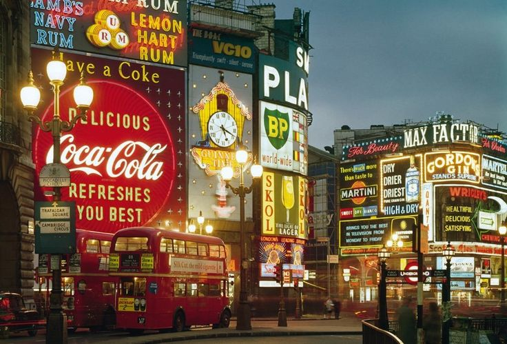 Scenes from a Vibrant 1960s London