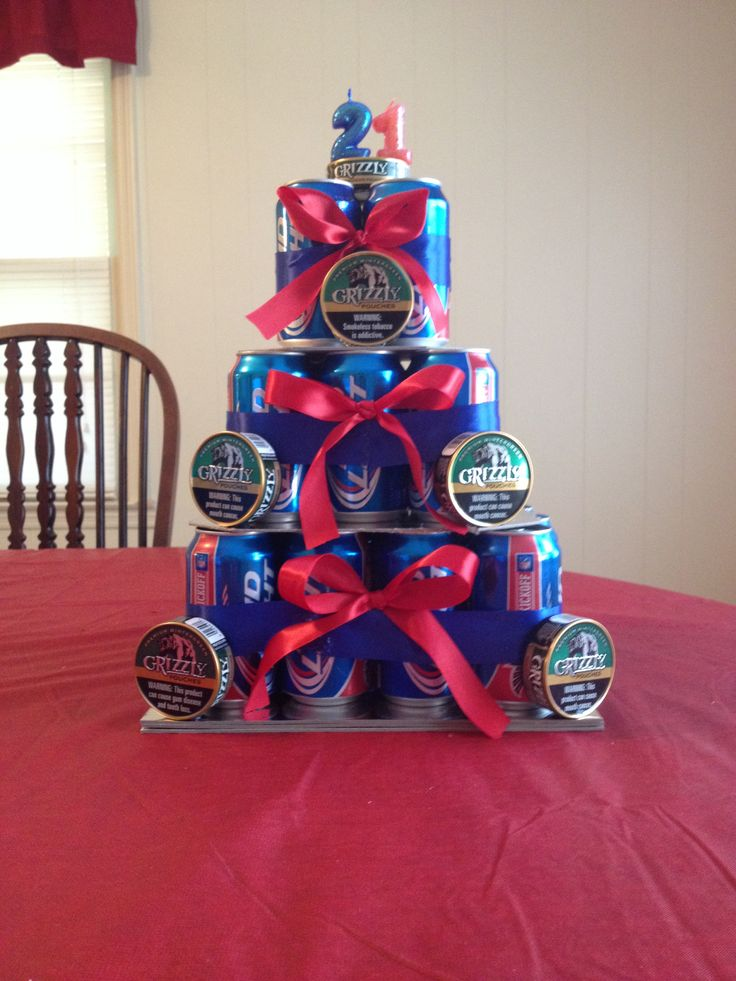 Beer can cake for 21st birthday its your birthday
